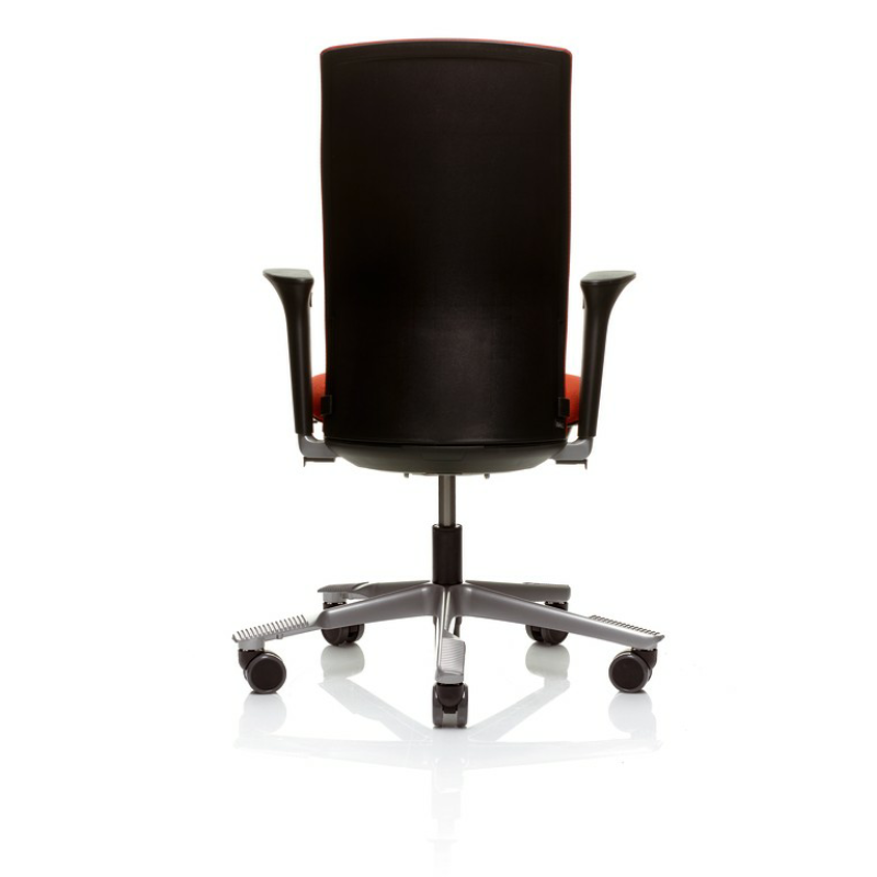 1020f Office Chair With Floating Tilt No Arms With Adjustable Lumbar Support