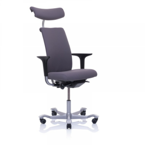 5500 with arms, headrest, silver base