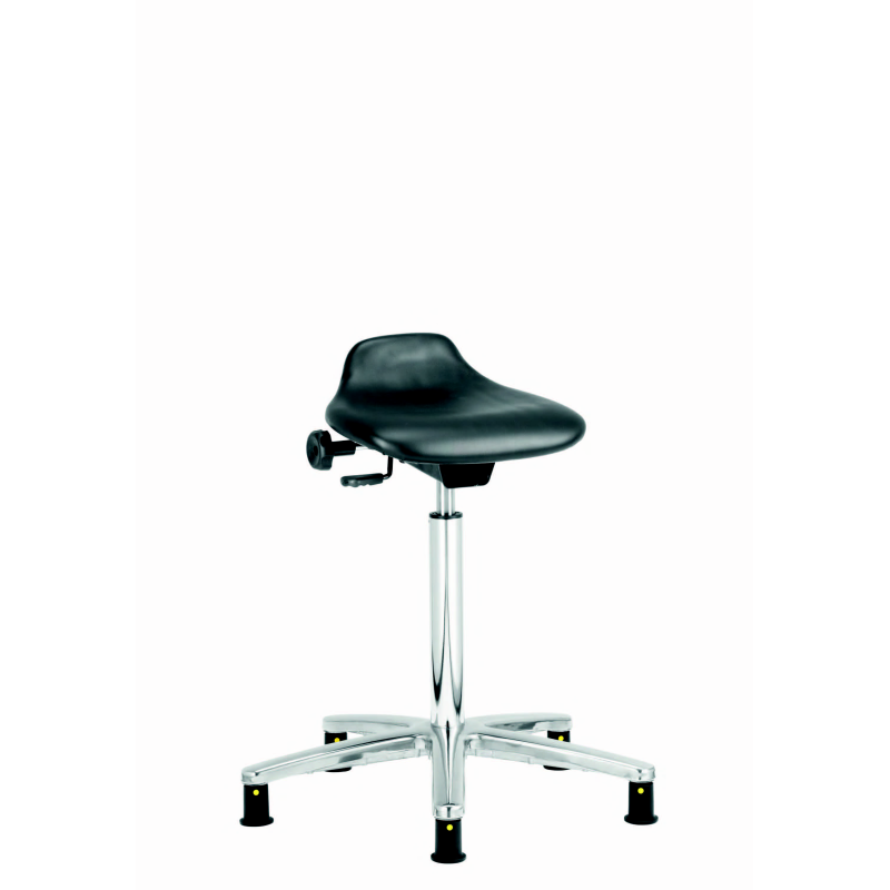 110 Esd Vinyl Sit Stand Stool With Seat Adjustable For