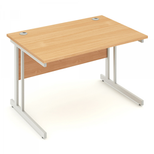 Impulse Rectangular desks without cable management