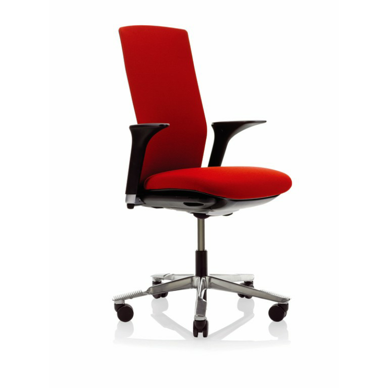 1020f office chair with floating tilt no arms with adjustable