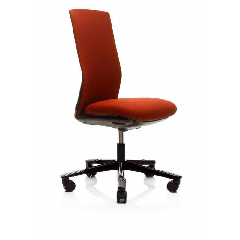 red office chairs. 1020f Office Chair With Floating Tilt, No Arms Adjustable Lumbar Support Red Chairs