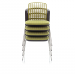9730 sideways chair stackable Olive