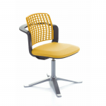 9732 sideways chair Ochre