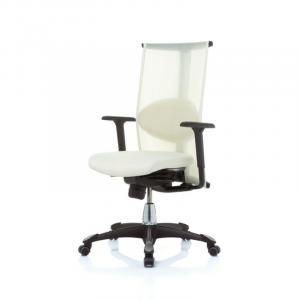 H09 9220 Inspiration chair in White Lumina