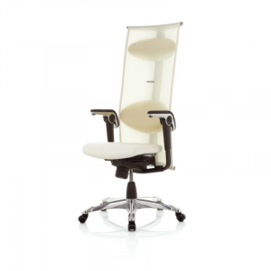 H09 9230 Inspiration chair in White Lumina