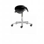 ESD vinyl saddle stool