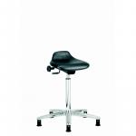ESD vinyl sit stand stool