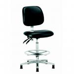 301 ESD vinyl high chair