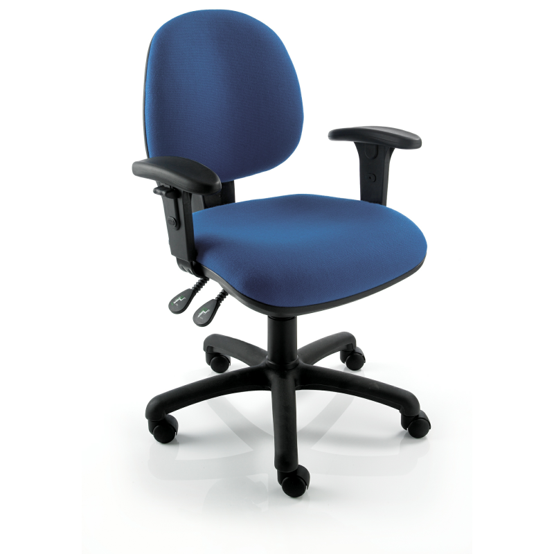 TR210 Two Lever Medium Back Operator Chair Without Arms
