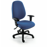 Touch TR230 Extra High back Chair with height adjustable arms (TR232)