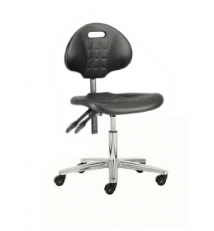 413 PU Low chair