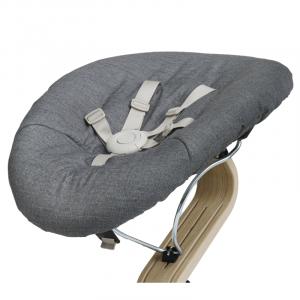 Dark Grey - Sand Baby base and mattress
