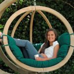 Wooden hanging chairs